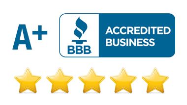 A+ Rating with the BBB